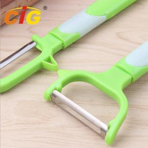 Buy cheap Multifunctional Stainless Steel Peeling Knife , Plastic Melon Grater Apple Peeler from wholesalers