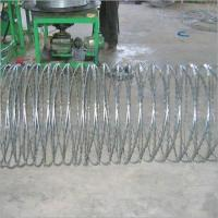 Professional High Security Stainless Steel Razor Wire Ultra Durable BTO-30 BTO-65 Manufactures