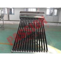 China Household Integrated Heat Pipe Solar Water Heater 150 Liter OEM Acceptable on sale