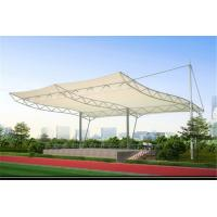 High Strength Tensile Structure Architecture , Fabric Shade Structures Windproof Manufactures