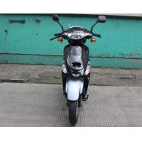 China 50cc Electric Moped Scooter , Aluminum Rear Rack Electric Scooter For Adults on sale