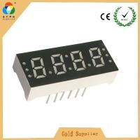 China Wholesale price super red 4 digits led 7 segment numeric display for led clock with CC & CA on sale
