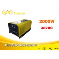 1 Years Warranty Off Grid Solar Home Power Inverter Single Output Manufactures