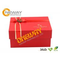 Cardboard Magnetic Rectangle Custom Printed Gift Boxes , Folding Paper Box Manufactures