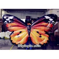 Inflatable Simulation Butterfly Wings Costumes for Wedding Stage Decoration Manufactures