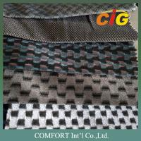 Colorful Tricot  Soft Jacquard Car Upholstery Fabric 100% Polyester Manufactures