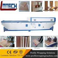 Pvc foil vacuum membrane press machine Manufactures