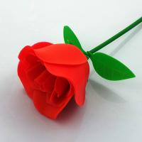China Customized FDA Aromatic Rubber Artificial Flowers Rose For Valentines Day wholesale