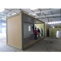 China Demountable Prefab Container House With EPS Sandwich Panel Wall wholesale