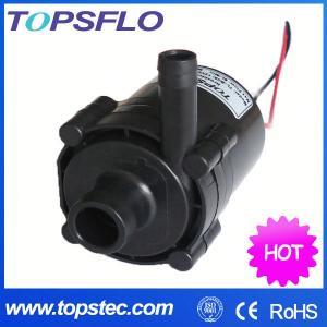 China TOPSFLO dc pump,mini water circulation pump,instant water heater pump TL-B04 on sale