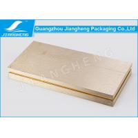 Hot Stamping Cosmetic Packaging Boxes Gold Gift Environmentally Friendly Packaging Manufactures