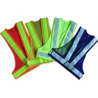 100% Polyester Fabric Reflective Safety Vests With Zipper EN20471 & CE Standard Manufactures