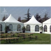 Durable High Peak Outdoor Shade Tent Gazebo Shelter Environmentally Friendly Manufactures