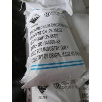 ndustry Grade Galvanizing Used Ammonium Zinc Chloride 55,Chemical Series Ammonium Zinc Chloride (ZnCl2: 75%, NH4Cl: 25%) Manufactures