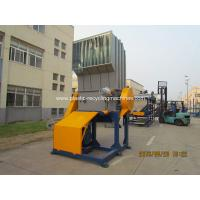 Waste PET Bottles / Drink Plastic Bottle Crusher Machine With CE Certificate Manufactures