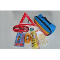 Auto Emergency Tool Kits Emergency Roadside Kit With Rain Poncho , Fuse Manufactures