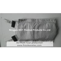 High Temperature Insulated Silicone Coated Fiberglass Welding Pipe Wrap Manufactures