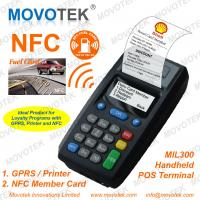 China Movotek NFC/RFID POS Terminal/Vending Machine with Thermal Printer for Bus Ticketing on sale