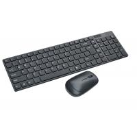 TOPELEK Wireless Keyboard and Mouse Combo, Wireless Mouse and Ultra Slim Keyboard, GHz Wireless Connection, with Mute Mouse and Micro Receiver -Compatible with Mac/Windows XP/7/8/10/VISTA.