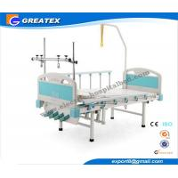 Cold - roll steel 4 Crank Traction Manual Hospital Bed , Orthopedics Medical Furniture Manufactures