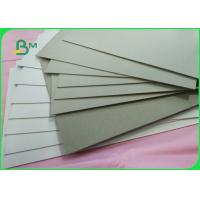 China 1mm Thickness Album Grey Board Paper High Stiff Grey Paperboard In Packaging Boxes on sale