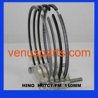 H07D piston ring 13011-2650A,13011-2651A Manufactures