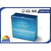 UV Ink Printing Metallic Rigid Paper Box Packaging for Cosmetics , Gifts , Cigarettes Manufactures