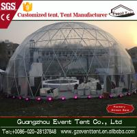 China Outdoor Event / Expedition Dome Tent Canopy With Single Swing Glass Door on sale