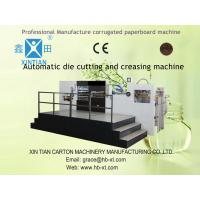 China Automatic Die Cutting Corrugated Carton Packaging Cardboard Box Making Machine on sale