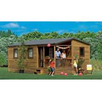 Australia Folding Mobile Homes , One Floor  Villa Style Prefabricated Mobile Homes Manufactures