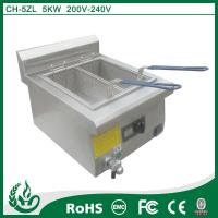 China commercial deep fryer induction deep fryer with 5kw on sale