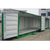 Galvanized Steel Frame shipping crate homes / sea container homes For Shop and Storage Manufactures