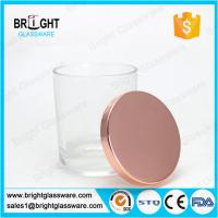 electroplating rose gold metal lids for candle holder Manufactures