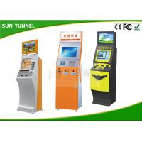19 Inch Customized Plastic Card Dispenser Kiosk With Cash / Coin Payment / Card Reader Manufactures
