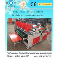Easy Operation Carton Folder Gluer Machine With Pressure Press Function Manufactures