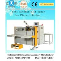 High Speed Semi Automatic Carton Folding and Stitching Machine 400nails/min Manufactures