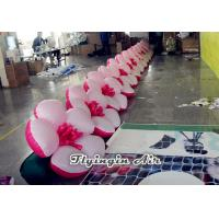 China Wholesale 5m/6m/8m/10m Inflatable Wedding Flower Chian for Sale wholesale