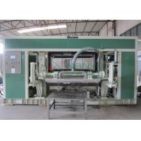 China Waste Paper Rotary Egg Pulp Molding Equipment with Single Layer Dryer on sale