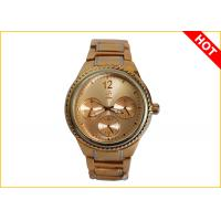 Men's Quartz Watches 2 Tone Color Plating 3ATM Waterproof Supplier Warranty for 1 Year
