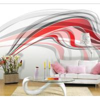 Non Toxic Beautiful Simple Abstract Custom Wall Art Interior Decoration Wallpaper JC-009 Manufactures