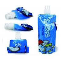 Custom Printde Stand Up Spout Pouch Side Gusset Bag For Juice Packaging Manufactures