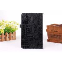 China Black Case For Samsung Tablet Covers Tab S T700 Case Crocodile design on sale