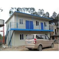 China Insulation Prefabricated Steel Buildings / Temporary Domitory For Construction Site wholesale