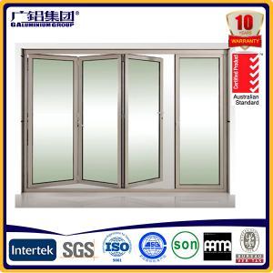 China aluminum folding doors bi-folding door on sale