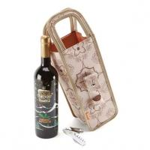 Clear Plastic PVC wine bottle bag ,polyester wine bottle bag Manufactures