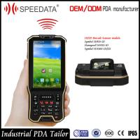 China Hand Android Nfc Card Rfid Reader Mobile Industrial With Barcode Scanner In A Unit wholesale
