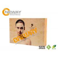 Beautiful Custom Made High Level Paper Cosmetic Packaging Boxes Environment Friendly Manufactures