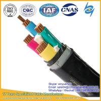 China Hot Supplier 3x120+1x70mm2 XLPE PVC Insulated Steel Tape Armoured Power Cable on sale