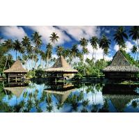 Prefab Prefabricated Bali Bungalow , Overwater Bungalows For Resort Maldives Manufactures