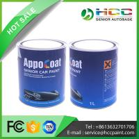 Touch up paint- 2K topcoat color Manufactures